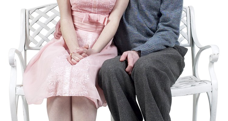 You may be displaying your attraction for someone without showing any physical affection.