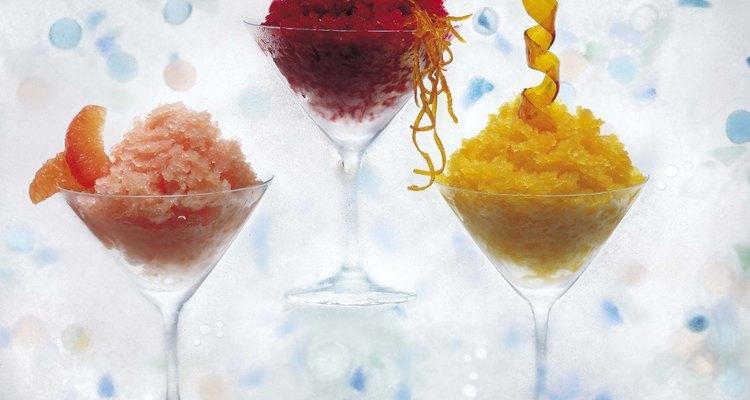 Depende mucho de la bebida que tomes, el hielo que preferirás.