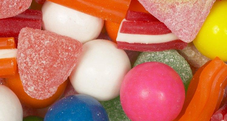 Os doces derretem e se fundem ao tecido quando postos em máquinas secadoras