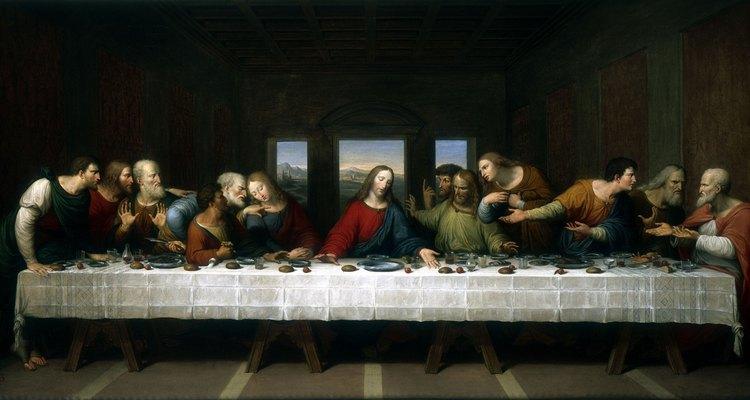 Leonardo da Vinci criou artes visuais a partir do texto inspirado na Bíblia