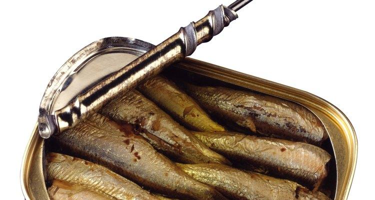 Lata de sardinhas