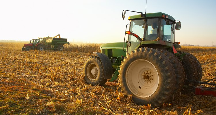 Tractors with PTO shafts utilise all sorts of implements.