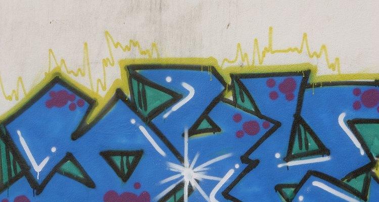 Encontradas em muitas cidades grandes, alguns consideram a pichação uma obra de arte