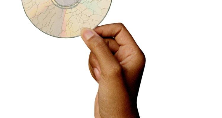 CDs rachados podem ser reparados