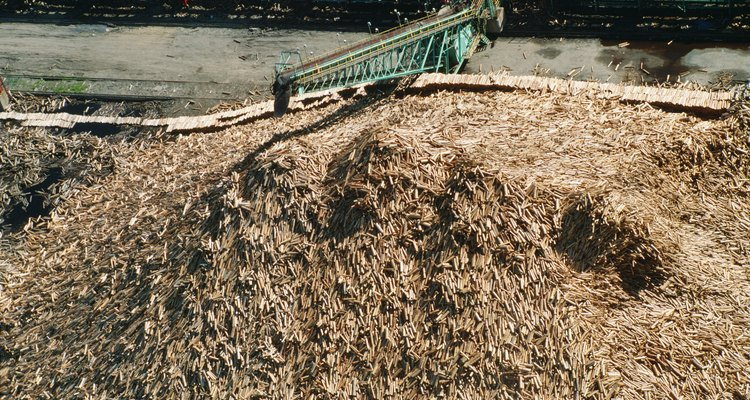 O pó de cal pode ser adicionado na fabricação da compostagem para auxiliar no levantamento do nível de pH no seu produto final
