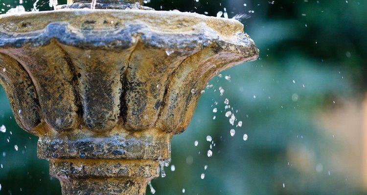 Mantenha uma fonte sem lodo