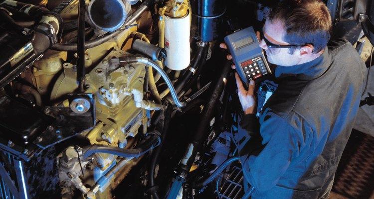 Os motores da Volvo são pouco poluentes e altamente eficientes