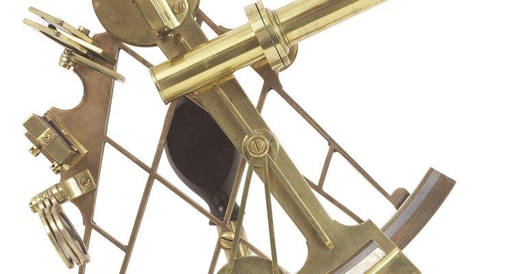 Un sextante es un instrumento de navegación.