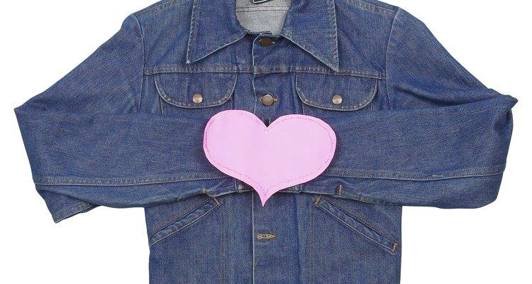 Tingir uma jaqueta favorita poderá renová-la