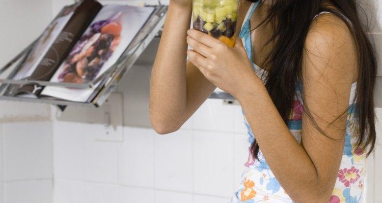 Deliciosos trozos de fruta como refrigerio.