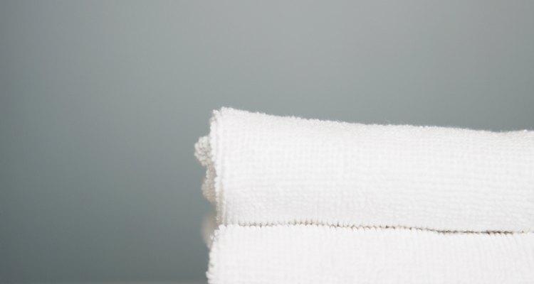Las toallas limpias no sólo se ven limpias, huelen a limpio.
