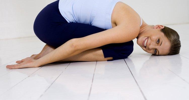 A posição da criança tonifica os músculos da pelve