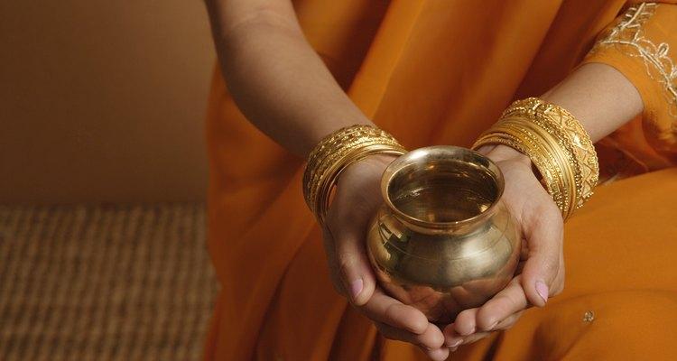 En la India es donde más se compra la joyería de oro de 21K.
