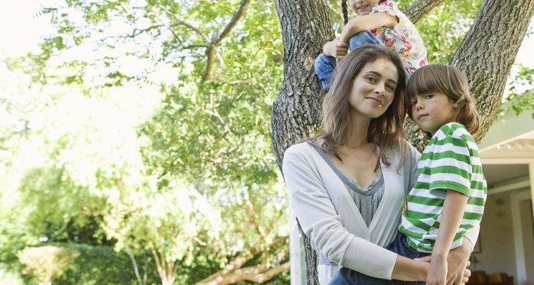 Con el apoyo de los demás, las madre solteras son capaces de criar a sus hijos con mayor eficacia.