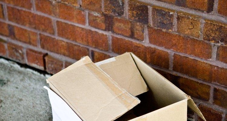 Treat cardboard like bare wood.