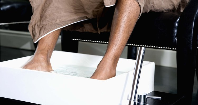 Regularly soaking and moisturising your feet can help soften toenails.
