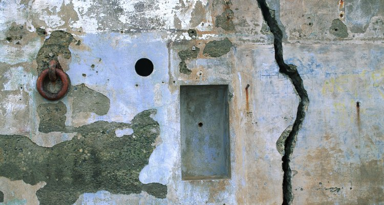 Major cracks in your wall could indicate more than a simple settling issue.