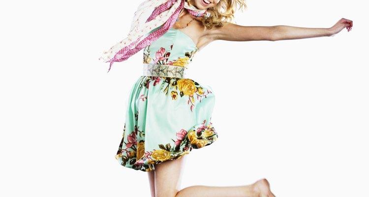 """El lema de Cindi Lauper """"Girls just want to have fun!"""" se reflejó en la moda desmesurada de los años 1980."""