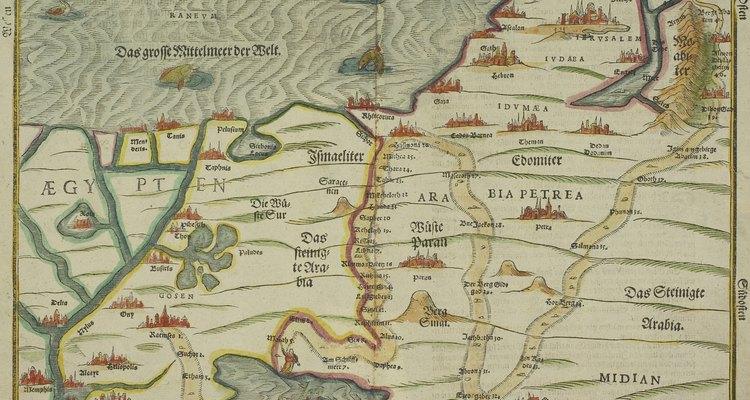 Israel y Egipto se encuentran ambas en el borde occidental del mar Mediterráneo.