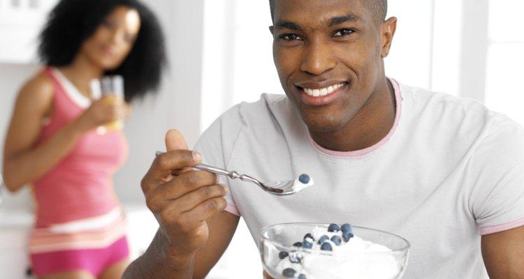 Muchos yogures estadounidenses están engrosados por ingredientes añadidos.