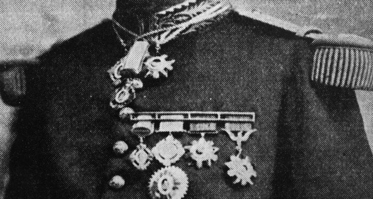 Victoriano Huerta, personaje clave en la invasión de Veracruz.