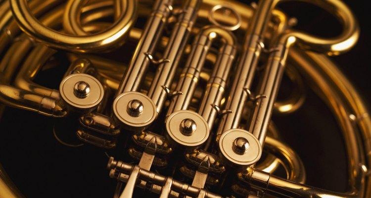 El bronce es muy usado en instrumentos musicales de viento.