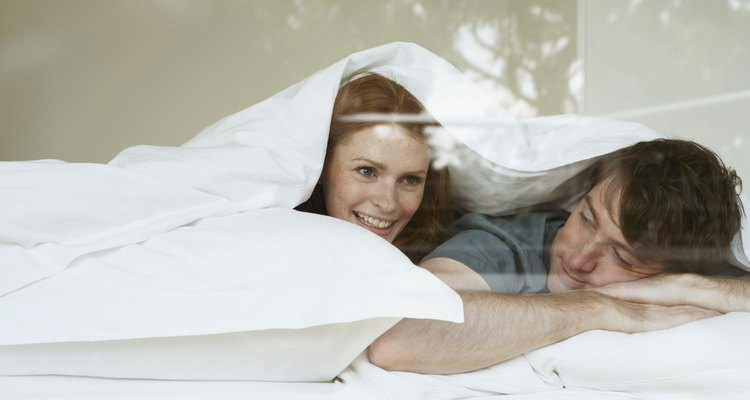 Protect your down comforters and decrease the numer of times they need to be cleaned.