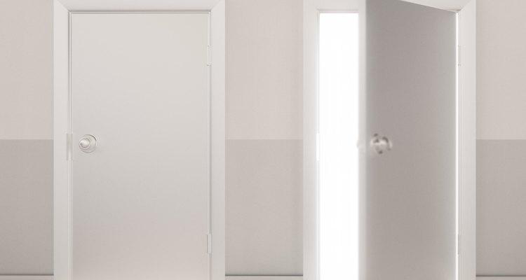 La mayoría de las puertas interiores son de unos anchos comunes.