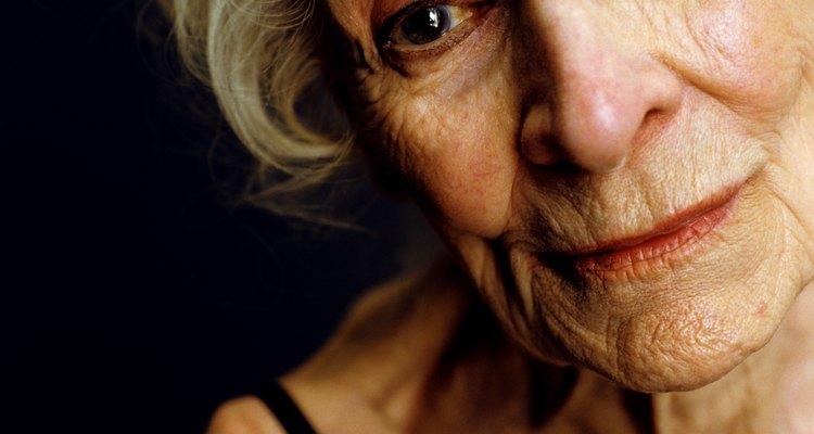 Portrait of senior woman, close-up