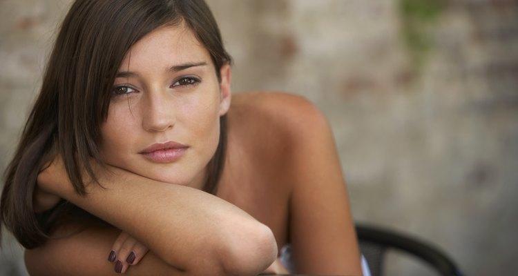 Young woman portrait, close-up