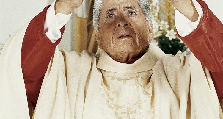 Vestiduras de sacerdotes.