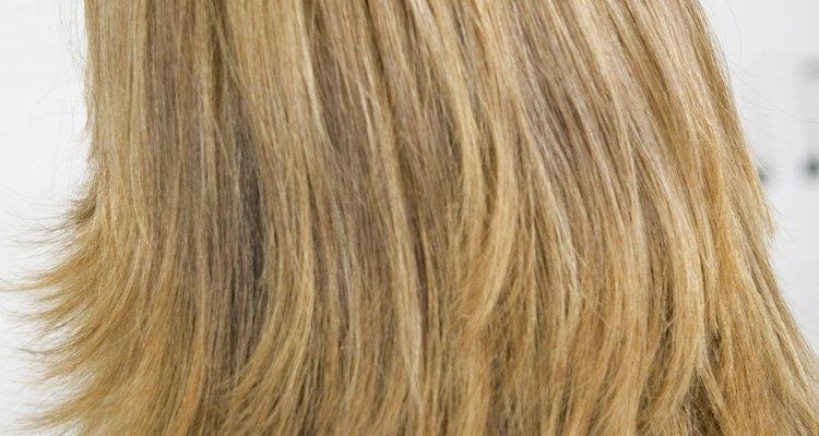 Peinado en capas.
