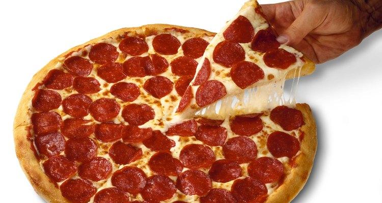 Puedes hacer una pizza en un horno de convección.