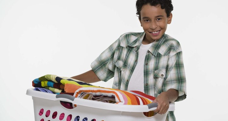 Os adolescentes são capazes de ajudar nas tarefas de casa