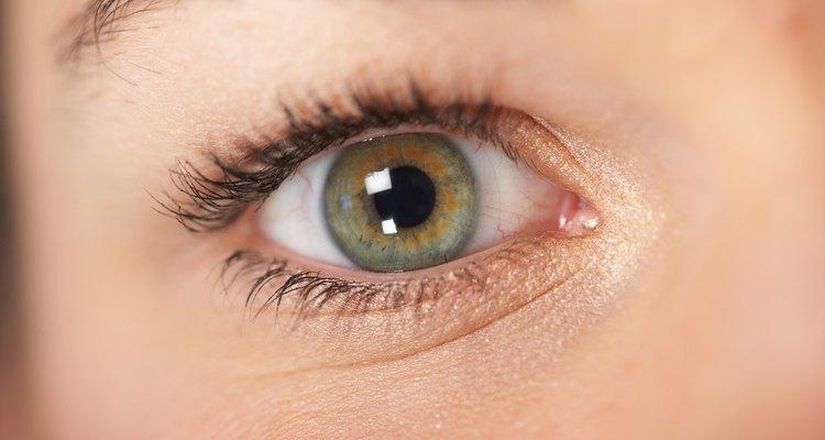 Ojos verdes.