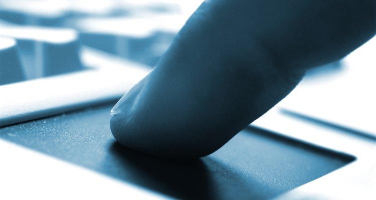 Há diversas opções de configuração do touchpad para adaptá-lo aos seus gostos