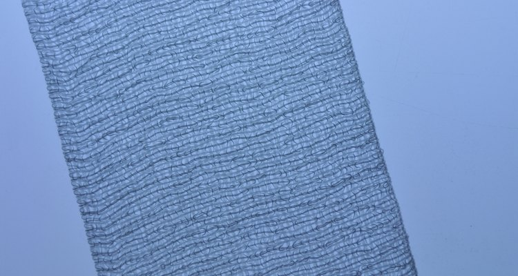 Cheesecloth and muslin are both loose-wove fabrics.