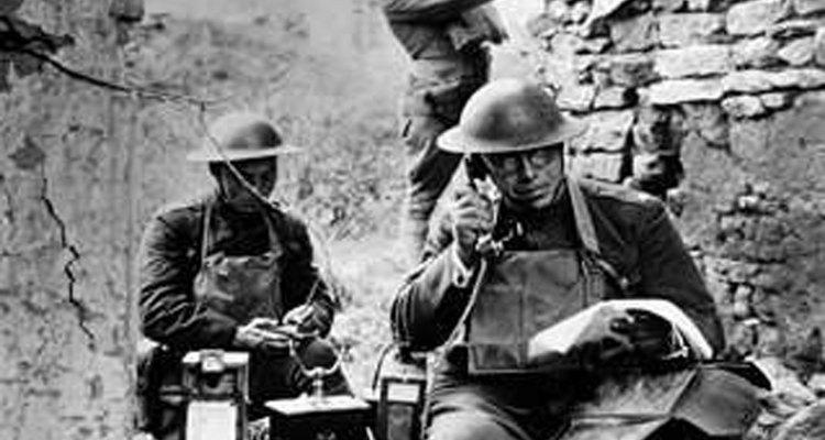 La Primera Guerra Mundial fue la primera guerra grande del siglo XX.