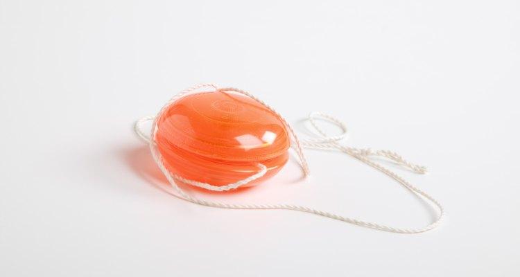El yo-yo era un juguete muy popular.