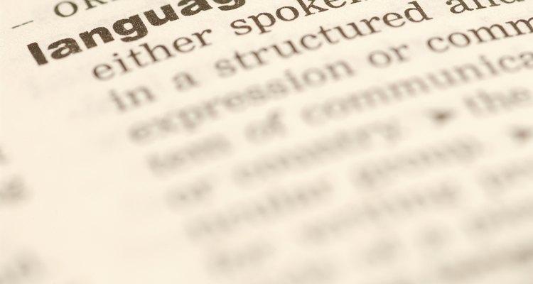 Semântica estuda o significado de toda língua