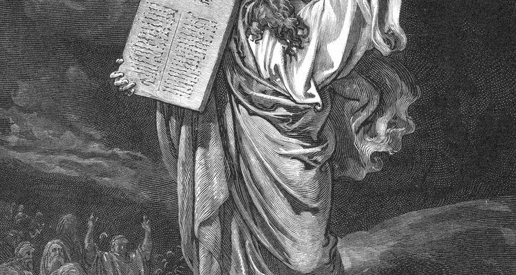 Los Diez Mandamientos se llevaban en el tabernáculo.