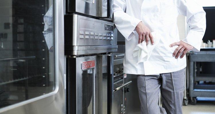 Los chefs profesionales utilizan este tipo de hornos.