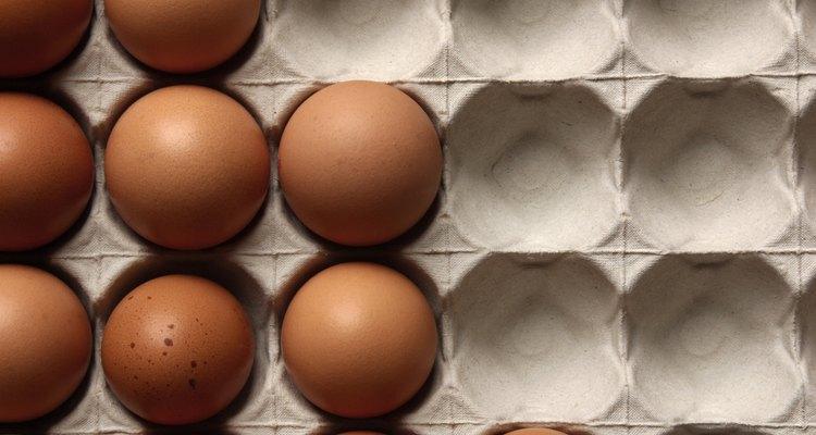 Huevos de color.