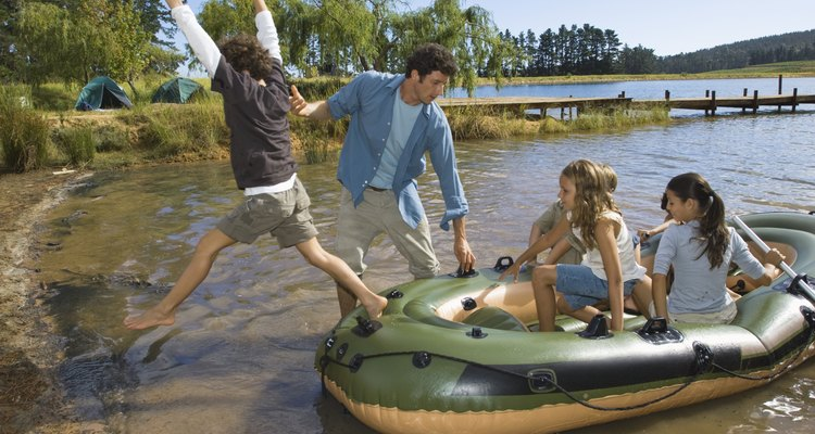 Rafting with friends on your birthday can be a bonding experience.