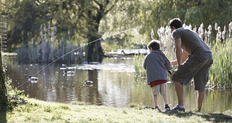 Al ir de pesca se puede obtener una cena y un montón de diversión.