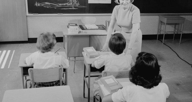 As salas de aula de hoje em dia são muito mais estilosas e persolnalizadas do que as de antigamente