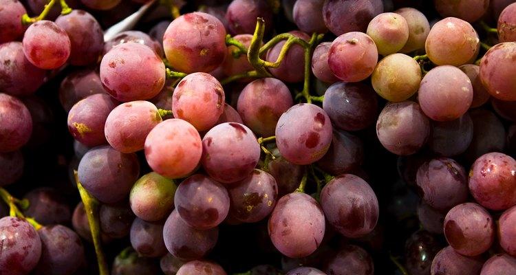 As sementes da uva contêm muitos nutrientes saudáveis
