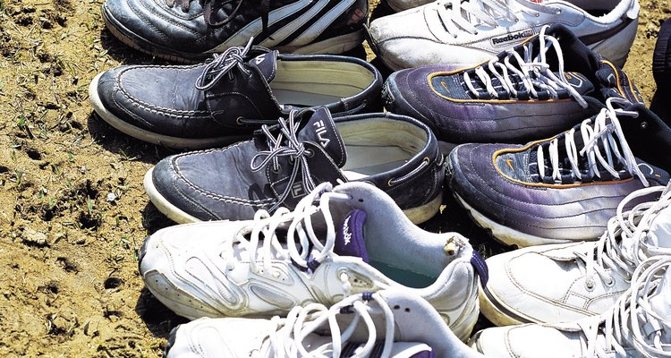 El atado de las agujetas de los zapatos Salomon XT WIngs GTX es diferente a otro tipo de calzado.