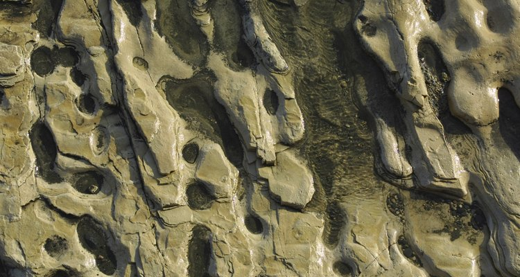Sandstone is a sedimentary rock common through southwestern regions of the United States.