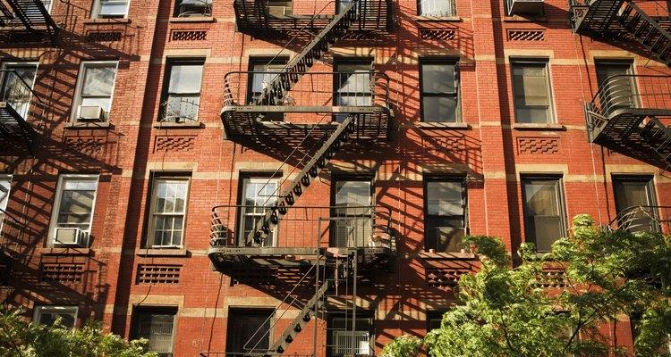 Complejo de apartamentos.